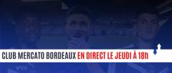 Club Mercato Bordeaux : Posez questions avant l'émission