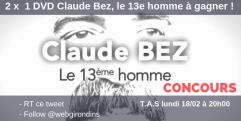 Concours : 2 Dvd Claude Bez, le 13e homme à gagner [DERNIER JOUR]