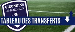 Le tableau des transferts du 21 janvier