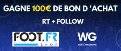Concours : 100€ de bon d'achat à gagner avec WebGirondins sur la boutique foot.fr