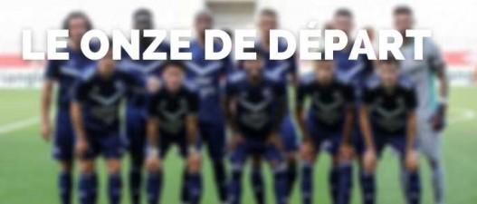 Bordeaux-Lens : le 11 des Girondins avec Poundjé et De Préville