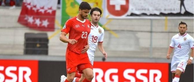 Loris Benito et la Suisse gagnent face aux États-Unis