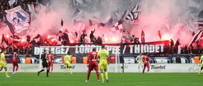 Bordeaux - Nantes : Les Girondins en tête à la mi-temps