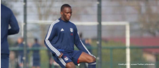 Issouf Sissokho intègre le groupe professionnel des Girondins