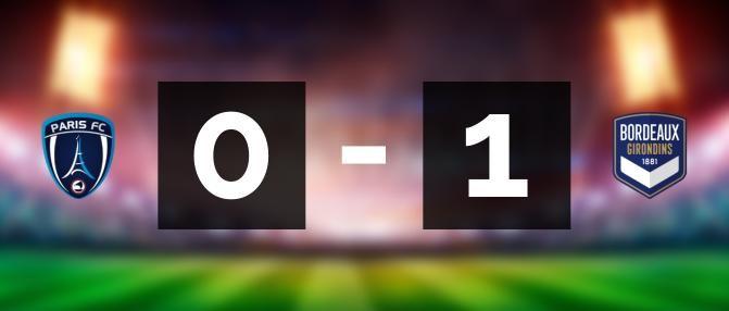 D1F : Bordeaux gagne au PFC