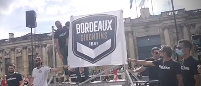 Les Ultramarines dévoilent ce qui pourrait être le nouveau logo des Girondins