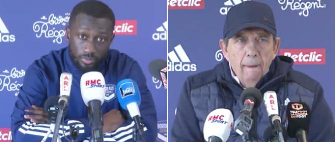 Revivez la conférence de presse de Jean-Louis Gasset et Youssouf Sabaly