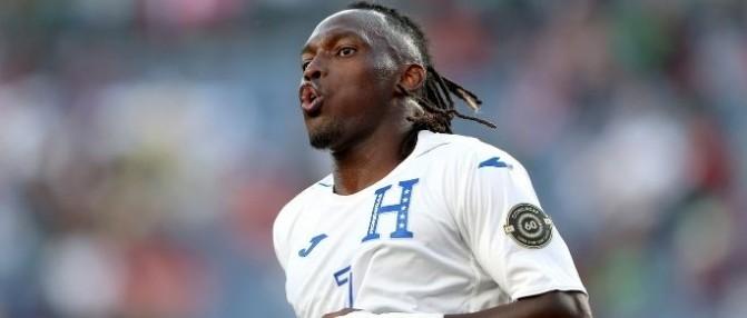 Alberth Elis a joué cette nuit avec le Honduras