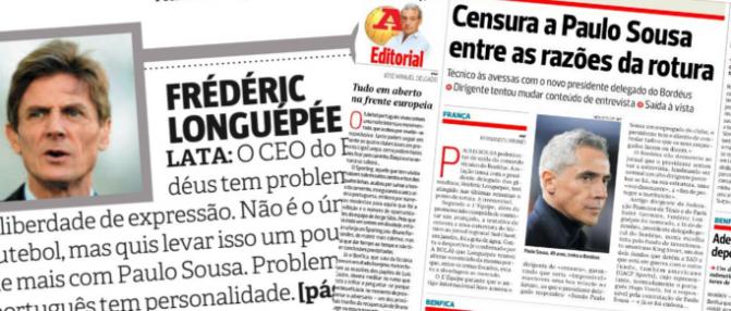 """Les médias portugais s'emparent de l'affaire de la """"relecture"""""""