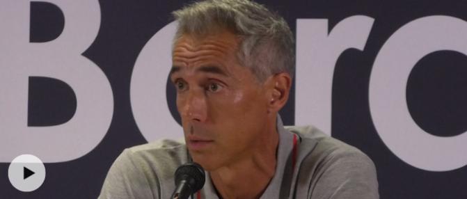 """Paulo Sousa : """"Tous les entraîneurs n'aiment pas voir partir les bons joueurs"""""""