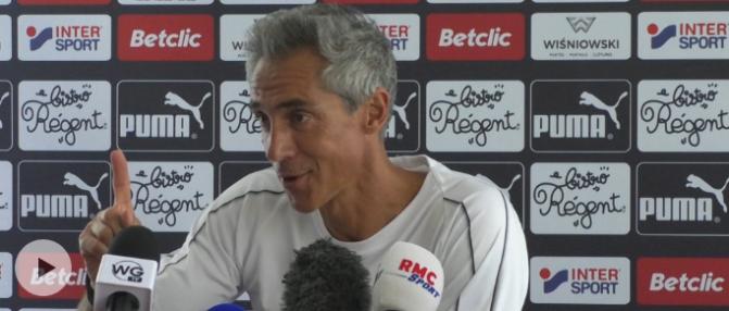 """Paulo Sousa : """"On se doit d'être dans la 1ère partie de tableau"""""""