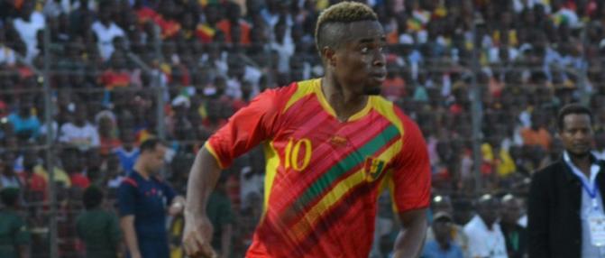 François Kamano retenu avec la Guinée pour deux matchs