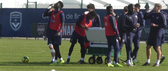 Entraînement : les Girondins avec Kalu mais sans De Preville