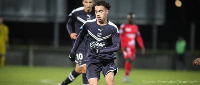 Les Girondins misent sur le potentiel de Yassine Boujouama