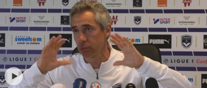 """Paulo Sousa : """"En savoir plus sur l'état d'esprit des joueurs"""""""