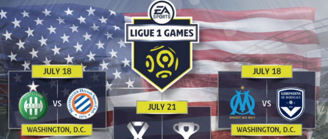 EA Ligue 1 Games : programme du tournoi de Washington, D.C