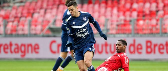 Trop de lacunes pour les Girondins face à Brest [2-1]