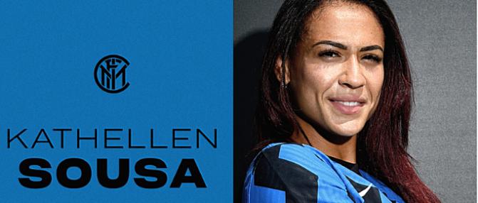 L'ancienne bordelaise Kathellen Sousa rejoint l'Inter