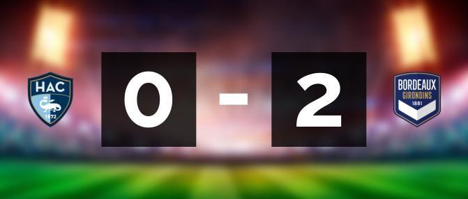 D1F : Bordeaux gagne au Havre