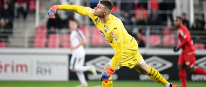 """Gaëtan Poussin : """"Je pense avoir bien réussi ma première en Ligue 1"""""""