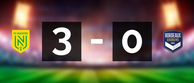 Nantes 3 - 0 Bordeaux