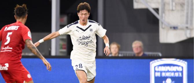 """Hwang Ui-Jo  : """"J'ai choisi Bordeaux pour son coach et son staff"""""""