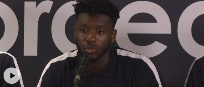 """Enock Kwateng : """"Il faut avoir envie de gagner tous les matchs"""""""