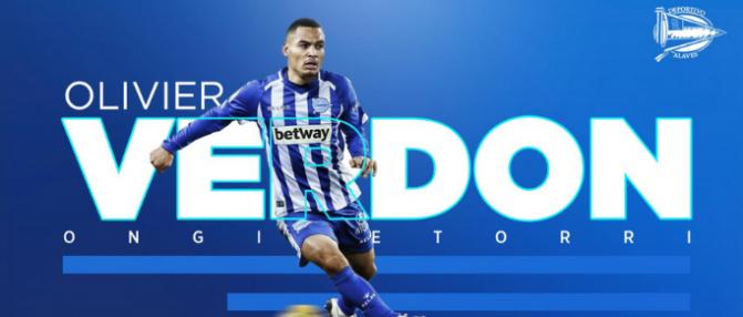 Mercato : Olivier Verdon rejoint Alavès [Officiel]