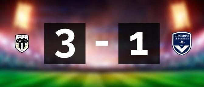 Angers - Bordeaux : les buts du match