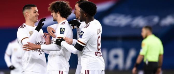 Les Girondins poursuivent leur belle série face à Lorient