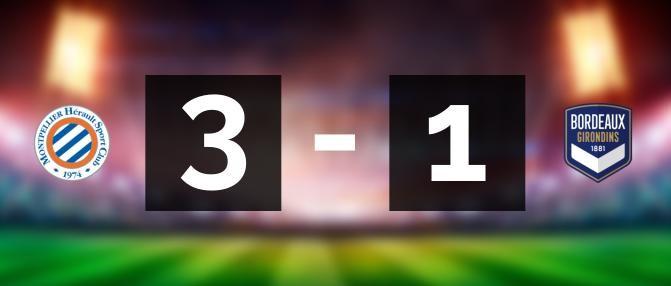 Montpellier 3-1 Bordeaux