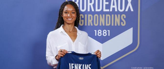 Darian Jenkins quitte les Girondins de Bordeaux