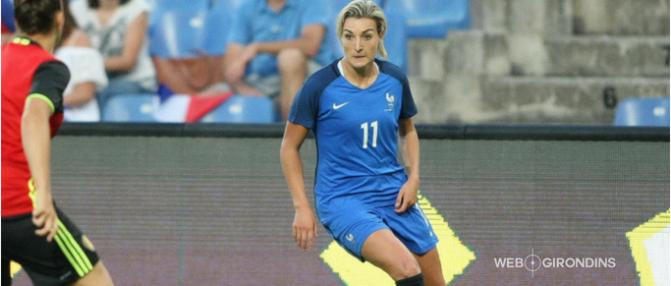 """Claire Lavogez : """"Bordeaux a envie d'avoir une équipe féminine à la hauteur"""""""