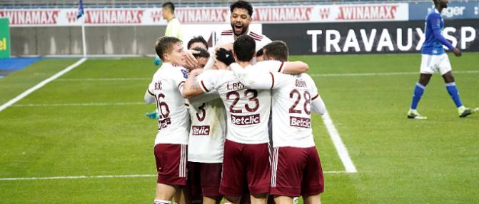 Metz-Bordeaux : les buts face aux Grenats