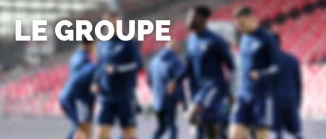 Dijon-Bordeaux : le groupe des Girondins sans Hatem Ben Arfa