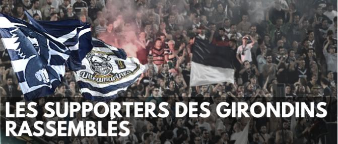 """Rassemblement """"Nous Les Girondins"""" à suivre en direct"""