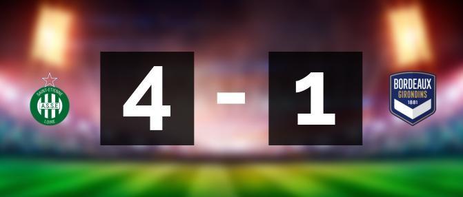 Revivez la lourde défaite des Girondins à Saint-Étienne