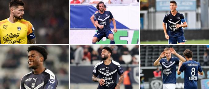 Désignez le meilleur joueur des Girondins au mois d'août