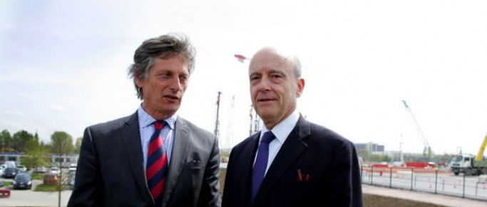 La petite pique de Pierre Hurmic à Alain Juppé à propos du stade