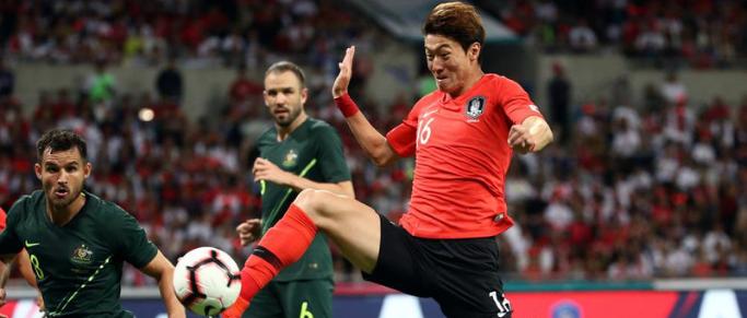 International : Hwang Ui-Jo victorieux avec la Corée du Sud
