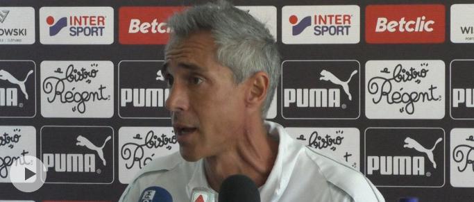 """Paulo Sousa : """"Metz, Brest et Amiens ne sont pas des équipes à notre portée"""""""
