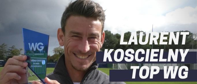 Réaction de Laurent Koscielny meilleur joueur du mois de septembre