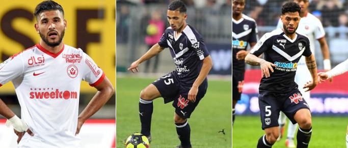 Aït-Bennasser, Otavio, Benrahou, quel milieu pour les Girondins ?