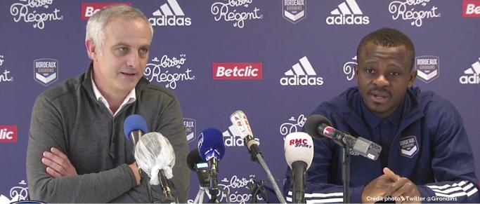 """Jean-Michaël Seri : """"Je suis venu ici pour aider le club à terminer le plus haut possible"""""""