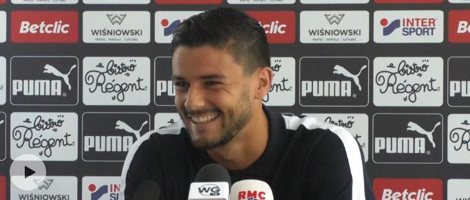 """Loris Benito : """"contre Lyon, j'aurai peut être moins d'espaces avec le ballon"""""""