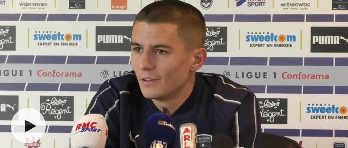 Sergi Palencia évoque sa progression aux Girondins de Bordeaux