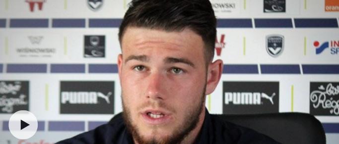 """Gaëtan Poussin : """"Le coach m'a convoqué en me disant que je jouerais à Caen"""""""