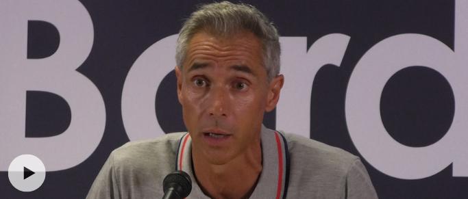 Paulo Sousa explique qu'il compte sur les joueurs présents à la CAN