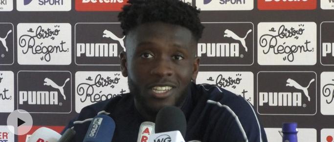"Enock Kwateng : ""Lyon est un match référence pour moi"""