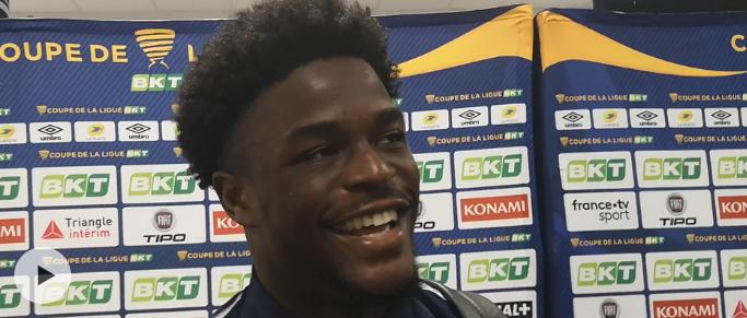 """Josh Maja : """"Bien sûr que j'aimerais être titulaire contre Nantes"""""""